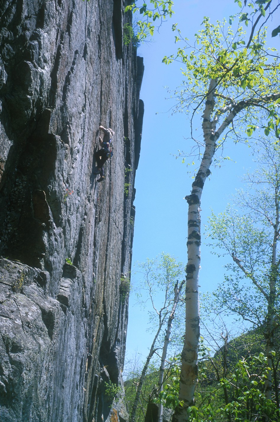 Series 3: Struggling with the crux of the route