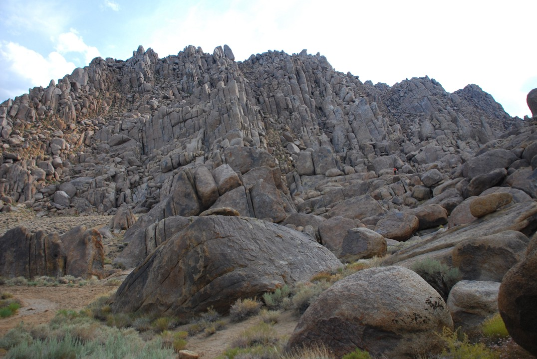 Tons of rock, like J-Tree but without all the gorgeous desert plant life