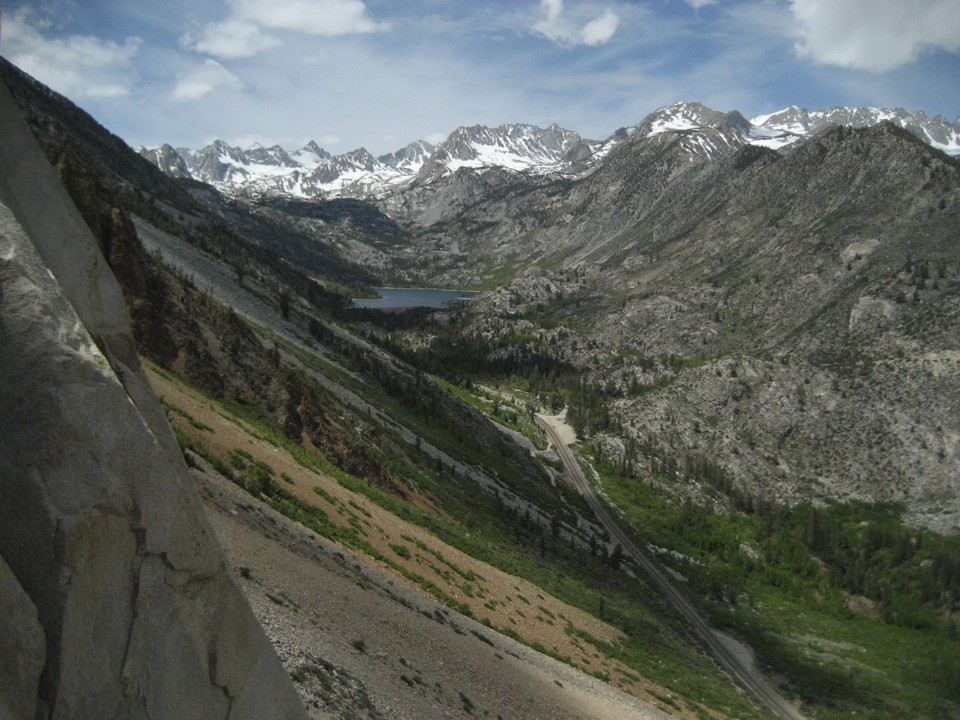 View of the Bishop Creek valley from the top of P1