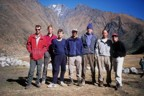 Expedition photo taken by a local in the town of Cocoyo (taken during the trek back from base camp to Sorata)