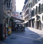 The streets of Trento