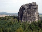 The amazing Frienstein; we climbed on the neighboring formation