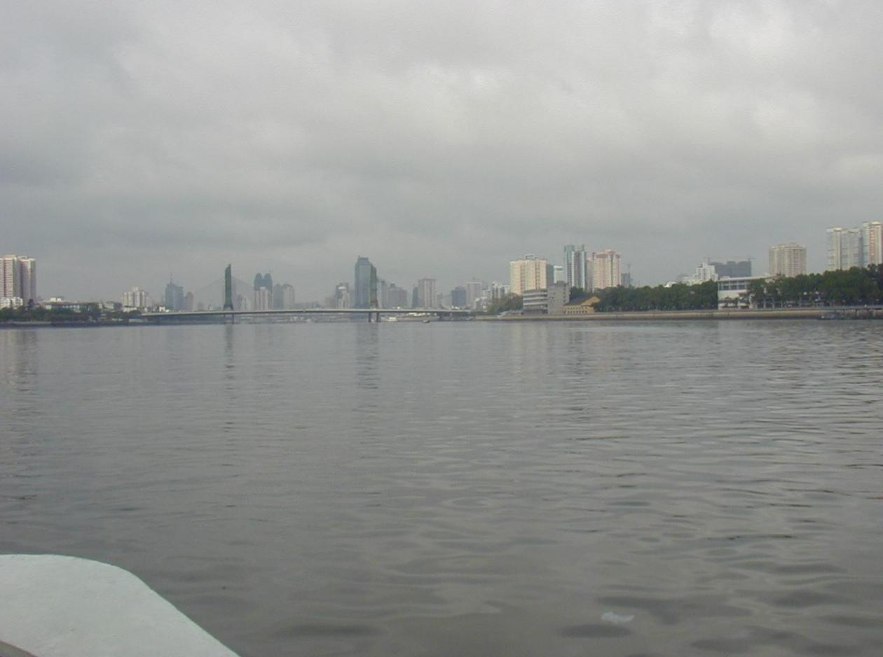 View from the ferry up the Pearl River