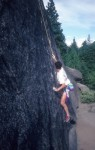 Toproping back when it was cool to do so (5.11d)