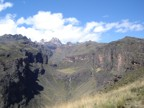 The beautiful Gorges Valley with Mt. Kenya at the head