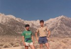 Posers in front of Mt. Whitney