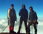 Stuart, Jim, and Tracy lookin' tough on Mt. Baker