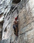 Will leading the crux of Black Crack