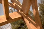 Nifty joinery in the timber frame