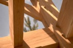More cool joinery in the timber frame