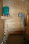 Pressure tank in the utility room