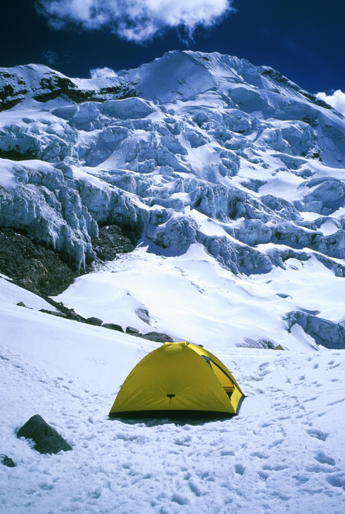 High camp on Auzangate