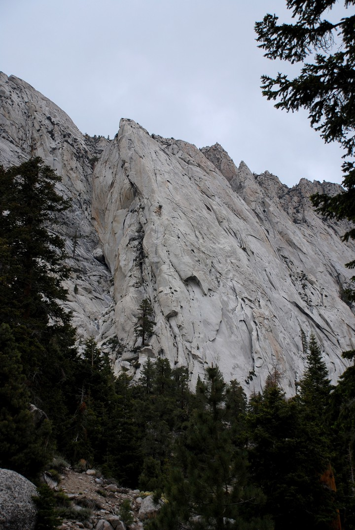 Whitney Portal Buttress, much larger than it looks