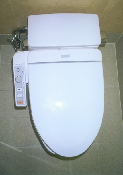 High technology meets the toilet